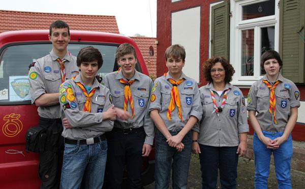 Helfergruppe der EPV für den Kirchentag 2013 in Hamburg